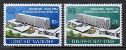 Nations Unies (New-York) - 1974 - Yvert N° 237 & 238 ** - New York -  VN Hauptquartier
