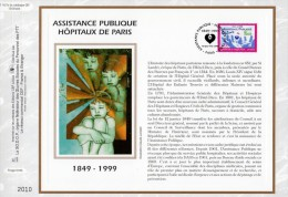 """Feuillet CEF En Soie De 1999 N° 1421s """" ASSISTANCE PUBLIQUE HOPITAUX PARIS """" N° YT 3216. Parfait état + Prix Degressif ! - Documents De La Poste"""