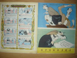RUSSLAND  30.04.1953 - KROKODIL NR.18,Super Zustand,3 Scans +PayPal,16 Seite - Books, Magazines, Comics