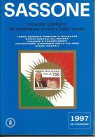SAS019 -  SASSONE - CATALOGO SPECIALIZZATO DEI FRANCOBOLLI D´ITALIA E DEI PAESI ITALIANI 1997 - VOL. 2 - Italia