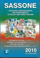 SAS005 -  SASSONE - CATALOGO SPECIALIZZATO DEI FRANCOBOLLI D´ITALIA E DEI PAESI ITALIANI 2010 - VOL. 2 - Italia