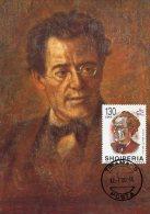 Albania,  Maxicard Maximum, 2000  Music Opera Composer Gustav Mahler - Musica