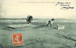 80 La Chasse En Baie De Somme  Chasseur Couvrant Son Hutteau - Francia