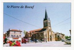 """ST PIERRE DE BOEUF """" L'église"""" - Other Municipalities"""