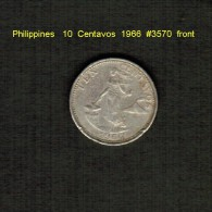 PHILIPPINES     10  CENTAVOS  1966  (KM # 188) - Philippines
