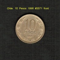 CHILE     10  PESOS  1996  (KM # 228.2) - Chile