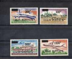 DAHOMEY : -Timbres Pour Colis Postaux - Timbres De La Poste Aérienne De 1963, Surchargés - Avions DC8, Et Aéroport - Bénin – Dahomey (1960-...)