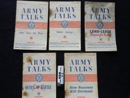 LOT 5 REVUES U.S. ARMY TALKS -  1944 - RESTRICTED  #.2