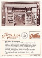 Postcard W H Smith & Son Shop Front 1930 Nostalgia WH Lending Library Newsagent Repro - Shops