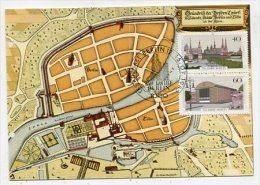 GERMANY / BERLIN-WEST - AK 185100 MC - Hagenbach  - 2/87 Blockausgabe - 750 Jahre Berlin - Cartas Máxima