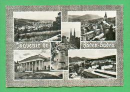 CPSM  ALLEMAGNE  -  BADEN-BADEN  -  52  Souvenir De Baden-Baden  ( Ann. 50/60 ) - Baden-Baden