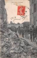 Chateau Thierry - Rue De La Poste - Défilé D'Italiens - Italian Army - 1919 - Chateau Thierry