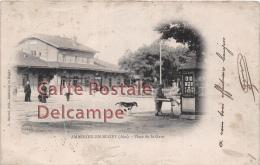Ambérieu En Bugey - Place De La Gare - Autres Communes