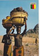 AFRIQUE CENTRALE,africa,CAMEROON, CAMEROUN,ancienne Colonie Allemande,fille,fillette, Girl,retour Du Marché,équilibriste - Cameroun
