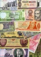 50 PCS DE BILLETS DIFFERENTS - 50 PCS DIFFERENT BANKNOTES PAPER MONEY LOT-15 - Kiloware - Banknoten
