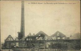 MARLE - La Sucrerie, Après L'incendie Du 4 Juin 1919 - Autres Communes
