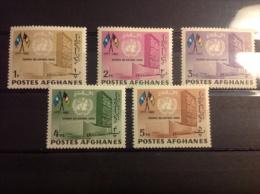 Afghanistan - Postfris Complete Serie Dag Van De Verenigde Naties 1962 - Afghanistan