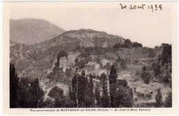 Montbrun Les Bains - Vue Panoramique - Au Fond Le Mont Ventoux - France