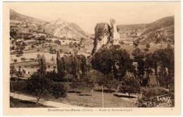 Montbrun Les Bains - Route De Barret De Lioure - Autres Communes