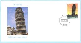 LESOTHO - FDC - 1573 Turm Von Pisa  (27163) - Lesotho (1966-...)