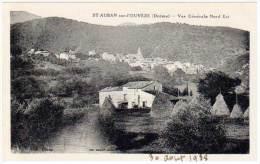 St Auban Sur L'Ouvèze - Vue Générale Nord Est - France