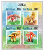 GUINEA BISSAU 2013 - Mushrooms. Official Issue - Pilze