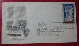 Brief FDC USA 1972 Yellowstone First Day Of Issue - First Day Covers (FDCs)