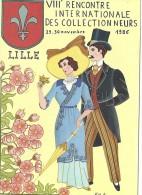 Cpm - Lille - VIII Rencontre Des Collectionneurs 1986 Dessin De Nathalia - Bolsas Y Salón Para Coleccionistas