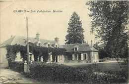 Depts Div- Yvelines - Ref K254- Gambais - Ecole D Aviculture - Direction  -carte Bon Etat - - France