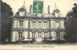 Depts Div- Yvelines - Ref K248- Auffargis - Chateau Villequoy  - Carte Bon Etat - - Auffargis
