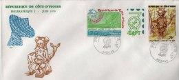 FDC  Grande Enveloppe 1er Jour: Philexafrique 1979 - Côte D'Ivoire (1960-...)