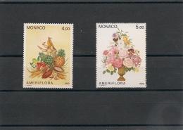 MONACO Année 1992 N° Y/T : 1830/31** - Monaco