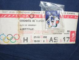 JO D'hiver ALBERVILLE 1992 - Habillement, Souvenirs & Autres