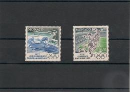 MONACO Année 1992 N° Y/T : 1811/12** - Monaco