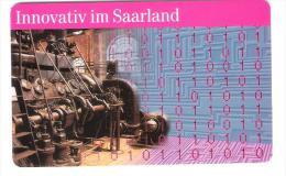 GERMANY  - A 16/97 - Innovativ Im Saarland - Voll / Mint - A + AD-Series : Werbekarten Der Dt. Telekom AG