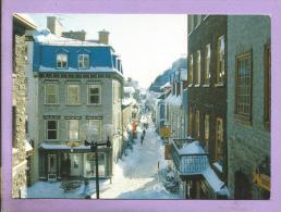 CANADA -  QUEBEC - Angle De La Rue Sous-le Fort Et Petit Champlain (rue La Plus Vieille D'Amérique Du Nord) - Québec - La Cité