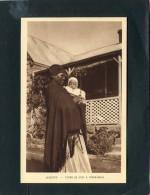 LESOTHO  1950  VUE  ETHNIQUE  FEMME DU CHEF A THABA BOSIU   CIRC   NON     / EDIT BRAUN ET CIE - Lesotho