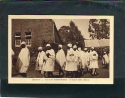 LESOTHO  1950  VUE  ETHNIQUE ECOLE DE THABANA MORENA  CIRC   NON     / EDIT BRAUN ET CIE - Lesotho