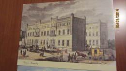 """2 Karten (Nachdruck) """"Postamt Dresden Im 19. JH"""" Und """"Postamt Königsberg Um 1849"""" - Gebäude & Architektur"""