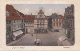 BF2537 Alzey Rossmarkt    2 Scans - Alzey