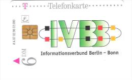 GERMANY  - A 07/98 - IVBB Informationsverbund Berlin Bonn - Voll / Mint - A + AD-Series : Werbekarten Der Dt. Telekom AG