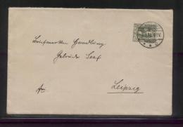 POLAND HAUTE SILESIE PLEBISCITE UPPER SILESIA 1920 LETTER TARNOWITZ (TARNOW) SINGLE FRANKING 40PF GREEN - ....-1919 Provisional Government