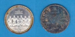 """ESPAÑA / REAL MADRID  2.002 Medalla De Plata SC/UNC """"Los Heroes De La Novena"""" DL-10.626 - Spain"""