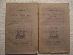 Bruges, Afflighem, Hoxem, Namur, Liège, Eeckeren, Edegem, Couture-Saint-Germain, Hasselt, Etc. - EO 1865, 1866 Et 1869.. - Belgique