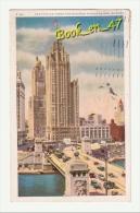 (35085) USA , Illinois , Chicago , The Tribune Tower And Michigan Avenue Bridge - Chicago