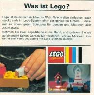 LEGO SYSTEM - CATALOGUE Et à La Fois LIVRE D´IDEES - Was Ist LEGO... 1969. - Catalogs
