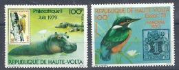 140010076  HAUTE-VOLTA  YVERT  AEREO  Nº  220/21A  (*)/MNH - Obervolta (1958-1984)