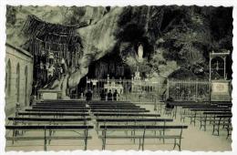 """LOURDES  : """" La Grotte Miraculeuse """" - Carte Pieuse La Vierge Immaculée Conception - Lourdes"""
