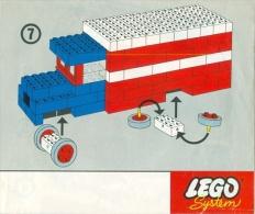 LEGO SYSTEM Plan Notice (3085) - Plans