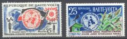 Haute-Volta YT N°93-96 Journée Météorologique Mondiale Neuf/charnière * - Haute-Volta (1958-1984)